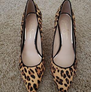 Jessica Simpson Cheetah Heels